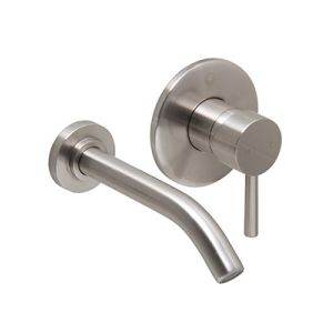 Olus Single-Lever Wall Faucet - Brushed Nickel